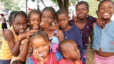 Happy Haitian kids :)