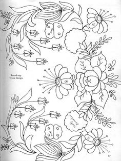bavarian folk art coloring pages - photo#2