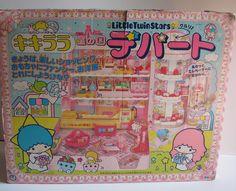 【1976】Toy Set - Shopping Mall ★Little Twin Stars★