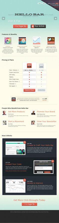 The website http://www.hellobar.com/ courtesy of @Pinstamatic (http://pinstamatic.com)