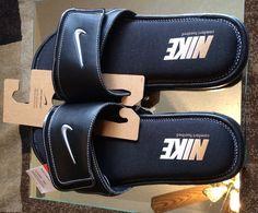 Men shoes Nike Comfort Slide 2 Slide Sandals Flip flops comfort black size 11 #Nike #Slides