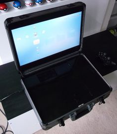 Custom portable ps3 with hdtv that i made for a friend