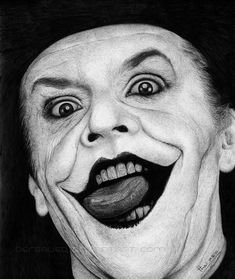 THE JOKER by *Thea-Nu | Hyperrealist pencil art of Thea Nu (a.k.a. Bereaved)