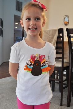 The Idiot's Guide to No-Sew Ribbon Turkey Shirts « Addie Baby