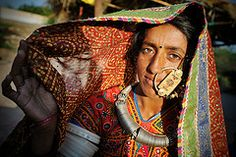 Meghwal Woman (Leonid Plotkin) Tags: woman india asia tribal nosering tradition tribe ethnic gujarat tradtional kutch jewely janan harijan meghwal megwal katchchh