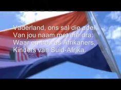 """""""Die Stem"""" (Volle weergawe), """"Transvaalse Volkslied"""", """"Oranje Vrystaatse Volkslied"""" (Ons Boerevolk se Republieke) Wax Lyrical, Afrikaans, Kinds Of Music, Singing, Let It Be, Songs, Feelings, My Love, Day"""