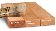 Learn more about using a wood conditioner with softwoods, cherry and very absorbment woods like poplar. #woodworking #tipsandtricks