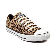 Nuevo Converse All Star lo Leopardo Para Mujer Mandriles Zapatillas  Bronceado Zapatos De Lona Leopard Converse 70ff75b45