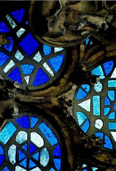 Gaudi's stained glass windows