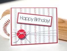 45 Best Baseball Birthday Cards Images Masculine Birthday