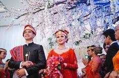 Batak Wedding of Mita Hutagalung and Daud Sijabat Part 2 -