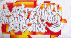 Graffiti Alphabets turned into graffiti art: many styles, colours, themes and calligraphy examples in this inspirational graffiti alphabet selection. Graffiti Alphabet Styles, Graffiti Lettering Alphabet, Graffiti Text, Graffiti Piece, Graffiti Writing, Graffiti Tattoo, Best Graffiti, Graffiti Murals, Graffiti Artists