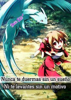 Daiki San Frases Anime Nunca te duermas sin un sueño