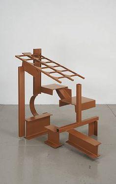 Anthony Caro Geometric Sculpture, Abstract Sculpture, Sculpture Art, Sculpture Ideas, Secret Garden Parties, Anthony Caro, Steel Sculpture, Contemporary Sculpture, Land Art