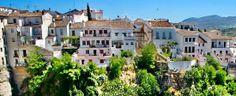 The white terraces of Ronda, Spain
