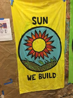 """""""People's Climate March Art Build was amazing! So pumped for Saturday!"""""""