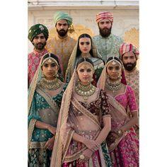 #Sabyasachi #SpringCouture2017 #TheUdaipurCollection #IncredibleIndianWeddings #Colour #Culture #Craft #ColoursOfIndia #TheSabyasachiBride #TheSabyasachiGroom #IndiaProud #KishandasForSabyasachi @kishandasjewellery #DestinationWeddings #HeritageWeddings @bridesofsabyasachi @groomsofsabyasachi @tajlakepalace Photograph by @tarun_khiwal #TheWorldOfSabyasachi