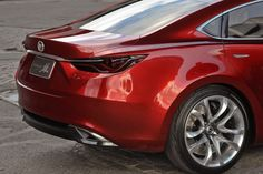 The automaker [#Mazda] said that the new Mazda6's design elements will be strongly influenced by the Takeri, which has been received positively by both the public and the press.