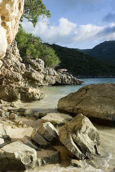 Caribbean shores at Labadee beach, Haiti (by Dorthe Arve Olsen).