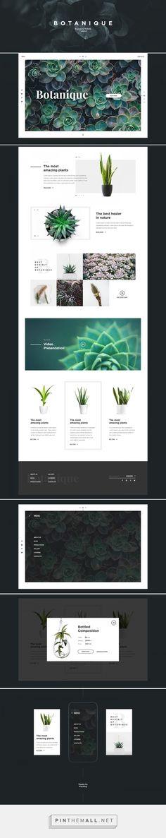 Botanique on Behance - created via https://pinthemall.net
