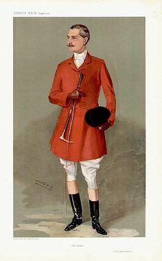 Charles FitzRoy, Lord Southampton, 1907, Vanity Fair,