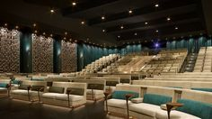 Hotel with full movie theater that hosts a movie and dinner from award winning chefs. ~ 'Dinner and a Movie' Right At Boston's The Revere    HotelChatter