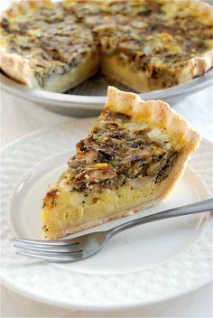 Love the recipes from King Arthur!  Mushroom quiche!