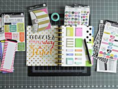 """Today mambi Design Team member Stephanie Buice is guest blogging for us to give you all an introduction to her new Happy Planner™ and talk a bit about how she set it up. """"Hi, everybody! Steph here! By now I bet that you have seen these planners floating all over Instagram and Facebook and you have a general idea of what mambi's new Create 365™ The Happy Planner™ system is about (if not, you can find out here). I decided to use my planner for many purposes and an all-in-one kind of deal. Previous"""