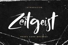 Zeitgeist Font [25% OFF - Limited] by Hindia Studio on @creativemarket