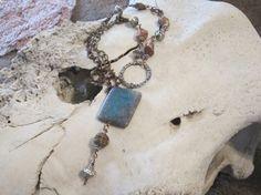 Boho jewelrynative american jewelrygemstone by edanebeadwork, $38.00
