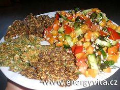 Lněné placky od EnergyVita.cz (raw food) :: Syrová strava