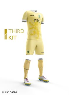 I designed football kits for Sporting CP for the upcoming season 16/17.