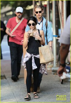 Vanessa Hudgens Will Never Forget Her Incredible Experience With 'Gigi': Photo #3402794. Vanessa Hudgens sips on her cool drink while out with boyfriend Austin Butler in New York City on Friday afternoon (June 26).    The 26-year-old actress and 23-year-old…