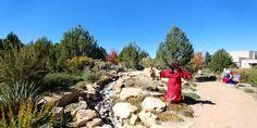 Memorial Garden and Scarecrow at the Montrose Botanic Gardens | Montrose, Colorado