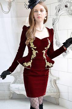 long-sleeve-peplum-dress-diy.jpg (600×900)