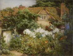 the-lily-garden-James-Valentine-Jelley
