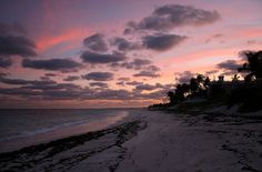 Hopetown, Bahamas beach sunset.  The lightning & the beating drum of our hearts.