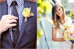 fantastic bride and groom attire