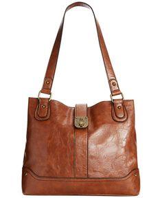 Style& Co. Twistlock Shopper, Only at Macy's