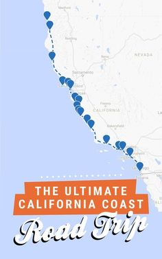 The ultimate California coast road trip, all the way from Crescent City in the north to San Diego in the south! Get the full itinerary over at Road Trippin' The States. - Remember June Gloom you might see nothing but fog! West Coast Road Trip, Us Road Trip, Pacific Coast Highway, Road Trip Hacks, Highway 1, North Coast, California Vacation, California Coast, Oregon Coast