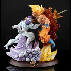 Dbz, Goku Vs Frieza, Marvel Fan Art, Anime Toys, Anime Figurines, Miniature Figurines, Anime Merchandise, Shikamaru, 3d Prints