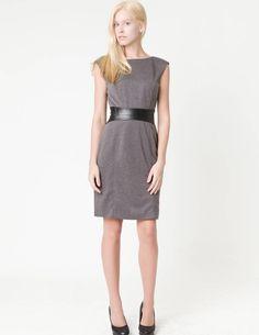 ClubCouture United States - premium: marled grey sheath dress - Dresses