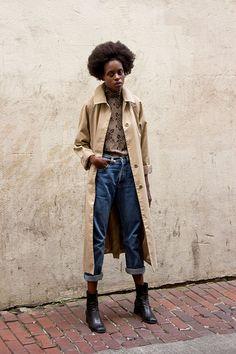 denim style #denim #womenswear #fashion