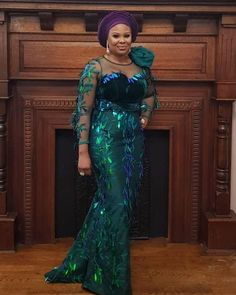Be a Trendsetter- Checkout These Eye-popping Aso-Ebi Styles – Wed… by Zahra Delong - 2019 Trends African Party Dresses, African Lace Dresses, Latest African Fashion Dresses, African Dresses For Women, African Attire, African Blouses, Aso Ebi Lace Styles, Lace Gown Styles, African Lace Styles