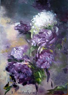 Dobriakova Kseniia, Noir, 5070, oil, 2016, for sale