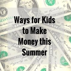 Easy ways for kids t