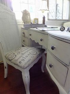 Shabby Chic Office