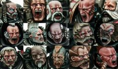 Read this in depth tutorial on painting the many different weathered faces of the mighty Space Wolves.
