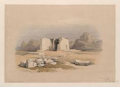 Temple of Tafa, in Nubia. Nov. 16th, 1838.