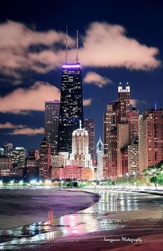 Chicago Lakefront by Songquan Deng